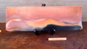 炎と煙の芸術です